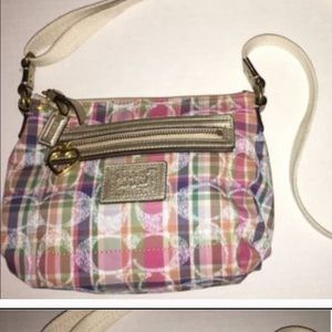 Coach Daisy Madras Plaid F22146